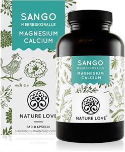 Viên uống Nature Love Sango Meereskoralle bổ sung Canxi, Magne