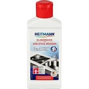 Dung dịch tẩy vệ sinh kính, inox Heitmann Glaskeramik und Edelstahl