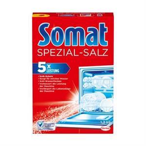 Muối rửa bát Somat Spülmaschinen-Salz Spezialsalz, 1,2 kg