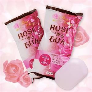Set xà phòng Rose Soap ( 3 bánh)