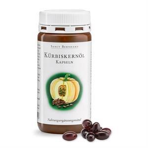 Viên uống hỗ trợ tuyến tiền liệt, bàng quang Sanct Bernhard Kurbiskernol Kapseln