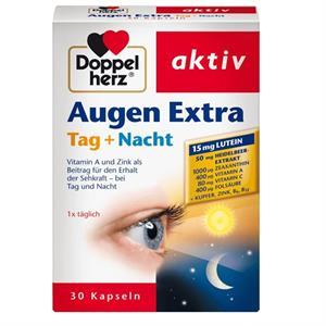 Viên uống bổ mắt Doppelherz Augen Extra Tag Nacht