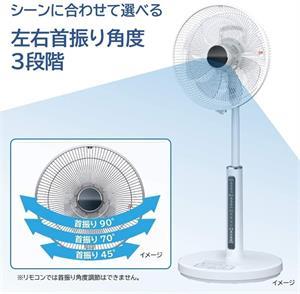 Quạt điện Hitachi HEF-AL300A - Hàng Nhật nội địa