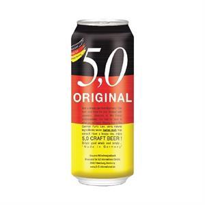 Bia thủ công Đức 5.0 Original 500 ml - thùng 24 lon