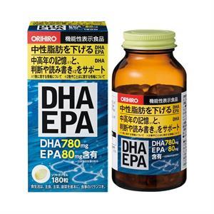 Viên uống bổ não Orihiro - DHA EPA 180 viên