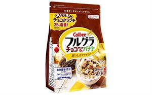 Ngũ cốc Calbee vị chuối và socola 600g