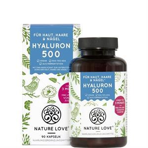 Viên uống Nature Love Hyaluron + Zink giữ ẩm da