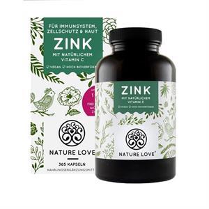 Viên uống Nature Love Zink + Vitamin C tăng cường đề kháng