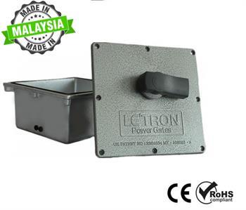 Cổng âm sàn tự động Letron - Malaysia