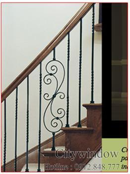Mẫu cầu thang sắt số 75