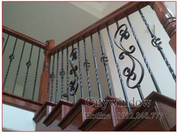 Mẫu cầu thang sắt số 61