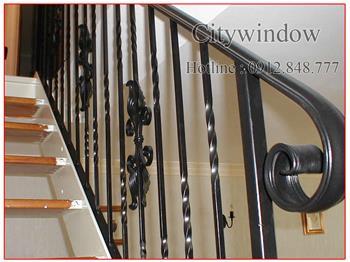 Mẫu cầu thang sắt số 46