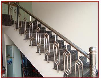 Mẫu cầu thang sắt số 19