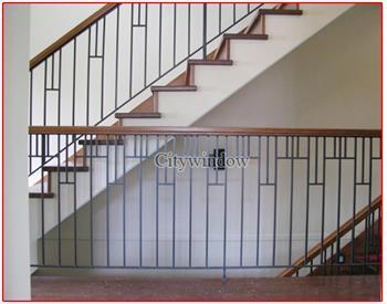 Mẫu cầu thang sắt số 14