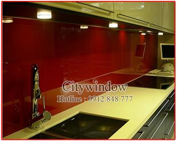 Kính màu - kính ốp bếp mẫu 18