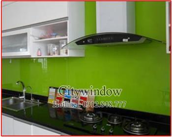 Kính màu - kính ốp bếp mẫu 04