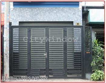 Mẫu cửa sắt - cổng sắt số 32