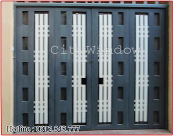 Mẫu cửa sắt - cổng sắt số 31