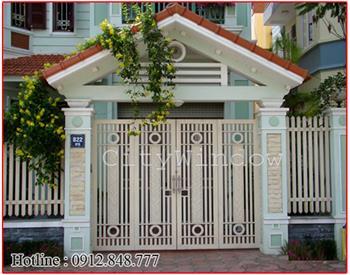 Mẫu cửa sắt - cổng sắt số 27