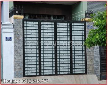 Mẫu cửa sắt - cổng sắt số 25