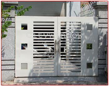 Mẫu cửa sắt - cổng sắt số 21
