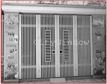 Mẫu cửa sắt - cổng sắt số 17
