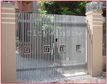 Mẫu cửa sắt - cổng sắt số 06