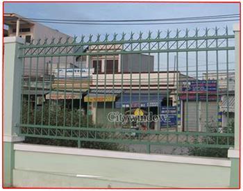 Mẫu hàng rào sắt số 37