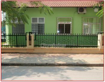 Mẫu hàng rào sắt số 12