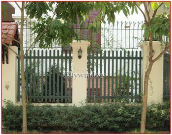 Mẫu hàng rào sắt số 09
