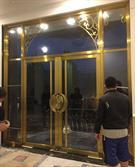 Cửa inox mạ vàng - Lựa chọn hoàn hảo cho mọi công trình