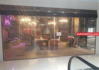 Cửa trượt tự động 2 cánh KickFit Trương Định Plaza