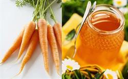 Mật ong cà rốt chữa ho hiệu quả