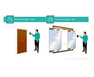 Giải pháp sử dụng cửa tự động sử dụng cho quản lý nhân viên, kho hàng