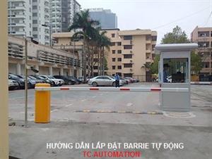 Quy trình lắp đặt thanh chắn đường barrier tự động China, Malaysia, Italia