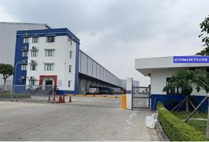 Bàn giao barie tự động TC-006B công ty TL LOGISTIC - Hưng Yên